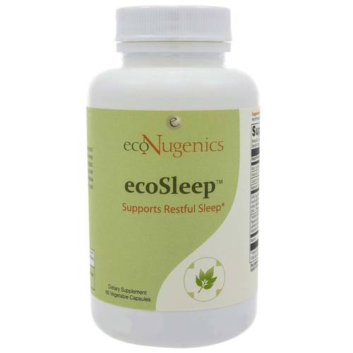 ecoNugenics ecoSleep - 60 Vegetable Capsules